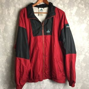 Adidas vintage Nebraska football windbreaker